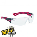 Lunettes protection tactique BOLLE Rush+ Incolore