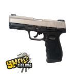 TAURUS PT24/7 G2 Dual tone/silver blowback Fullmetal CO² - 1,8 J