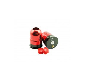 Cartridge 40/55mm canon court compatible GAZ/CO2 rouge