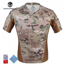 EMERSON RUNNING SHIRTS - MULTICAM - S
