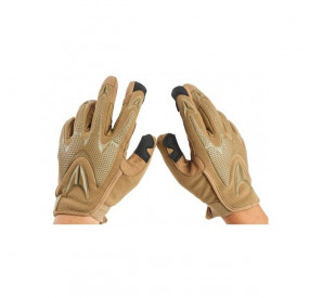 """Gants TAN """"Fast Trigger"""" GK Tactical taille S"""