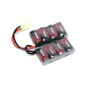 Batterie double pack 9.6V/1600mAh NIMH - G&G