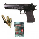 Pack DESERT EAGLE blowback Fullmetal Semi-auto - CO²
