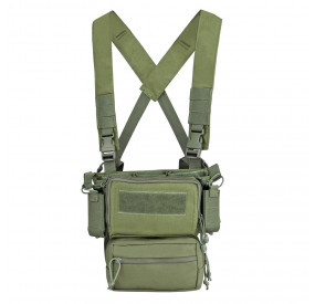 Chest rig type Haley Strategics D3CRM Olive Swiss Arms