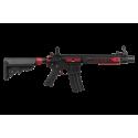 Colt M4 Blast Red Fox Full métal AEG Mosfet