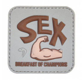 Patch PVC Breakfast of Champs
