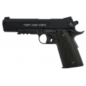 Colt 1911 rail gun Blackened Culasse fixe - CO²