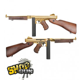 Thompson M1 A1 plaqué Or