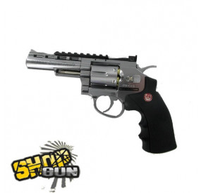 Ruger Super Hawk Chromé Fullmetal 4""