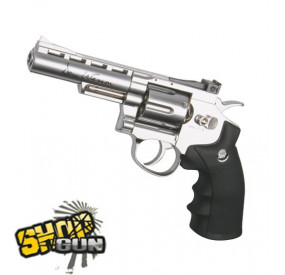 "Dan Wesson 4"" Chrome Full Métal CO2"