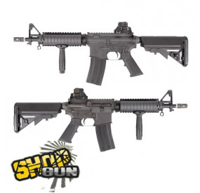 Colt M4 CQB-R Gaz Blowback Fullmetal King Arms