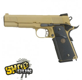 MEU 1911 Fullmetal Blowback WE TAN