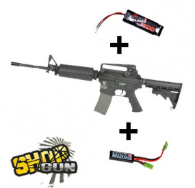 Pack M4A1 King Arms 1.4J avec MOSFET