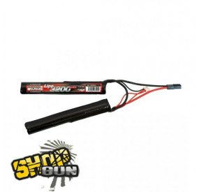 Batterie li-po 7.4V/3200mAh 25C Double Stick
