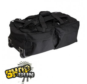 Sac operationel à roulettes Noir 110L