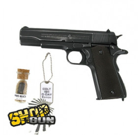 Colt 1911 A1 Blowback 70th anniversary D-DAY Edition CO²