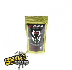 1800 billes 0.30g BO Combat Biodégradable Ammo
