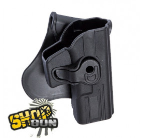Holster droit paddle rotation 360° G17/18