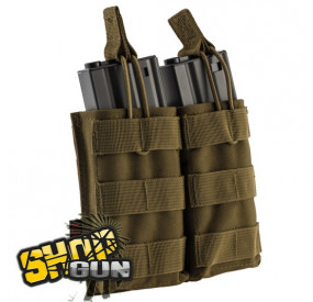 Poche Molle Double Chargeur M4/Famas Nuprol Tan