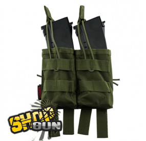 Poche Molle Double chargeurs AK47 OD Green