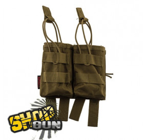 Poche Molle Double Chargeur G36 Tan